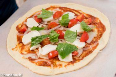 小さい子供と一緒に料理ができる!手作りピザの作り方