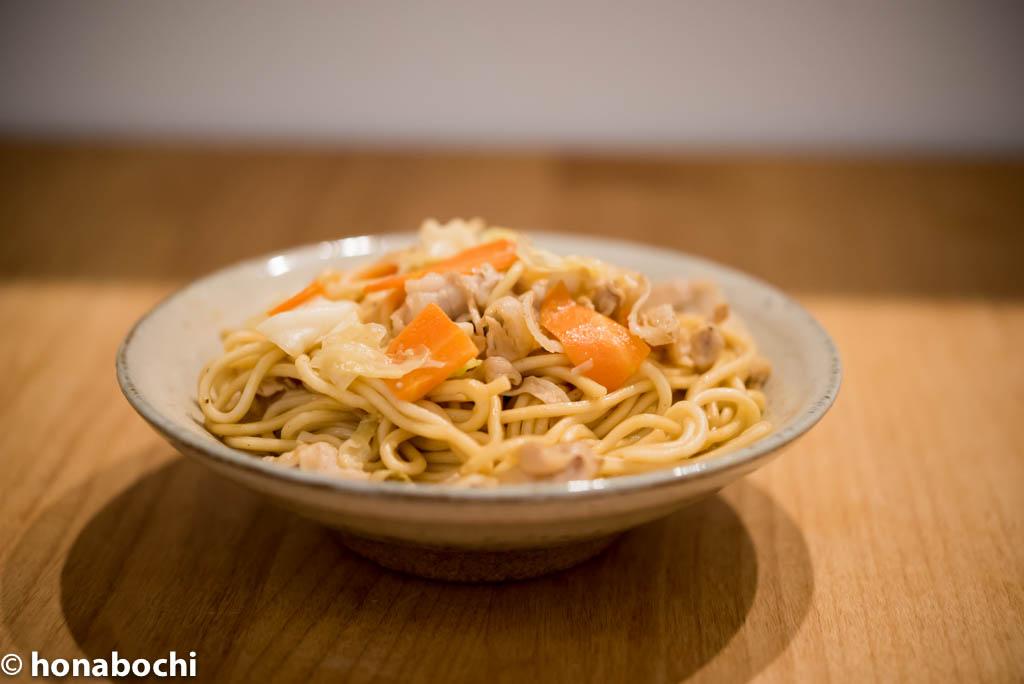 無添加・無かんすいの焼きそば麺【離乳食にもおすすめ】『大近フーズの無かんすいむし焼きそば』
