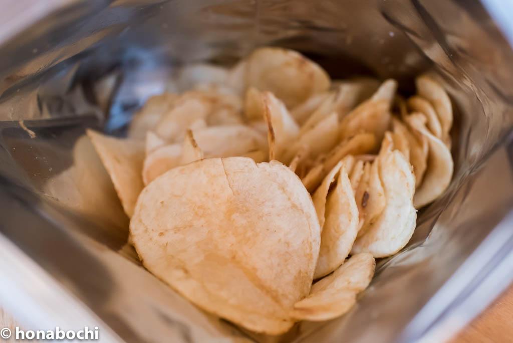自分で味付けをアレンジできる!ローソンで買える無添加ポテトチップス『湖池屋のじゃがいも素のままポテトの素顔 食塩不使用』