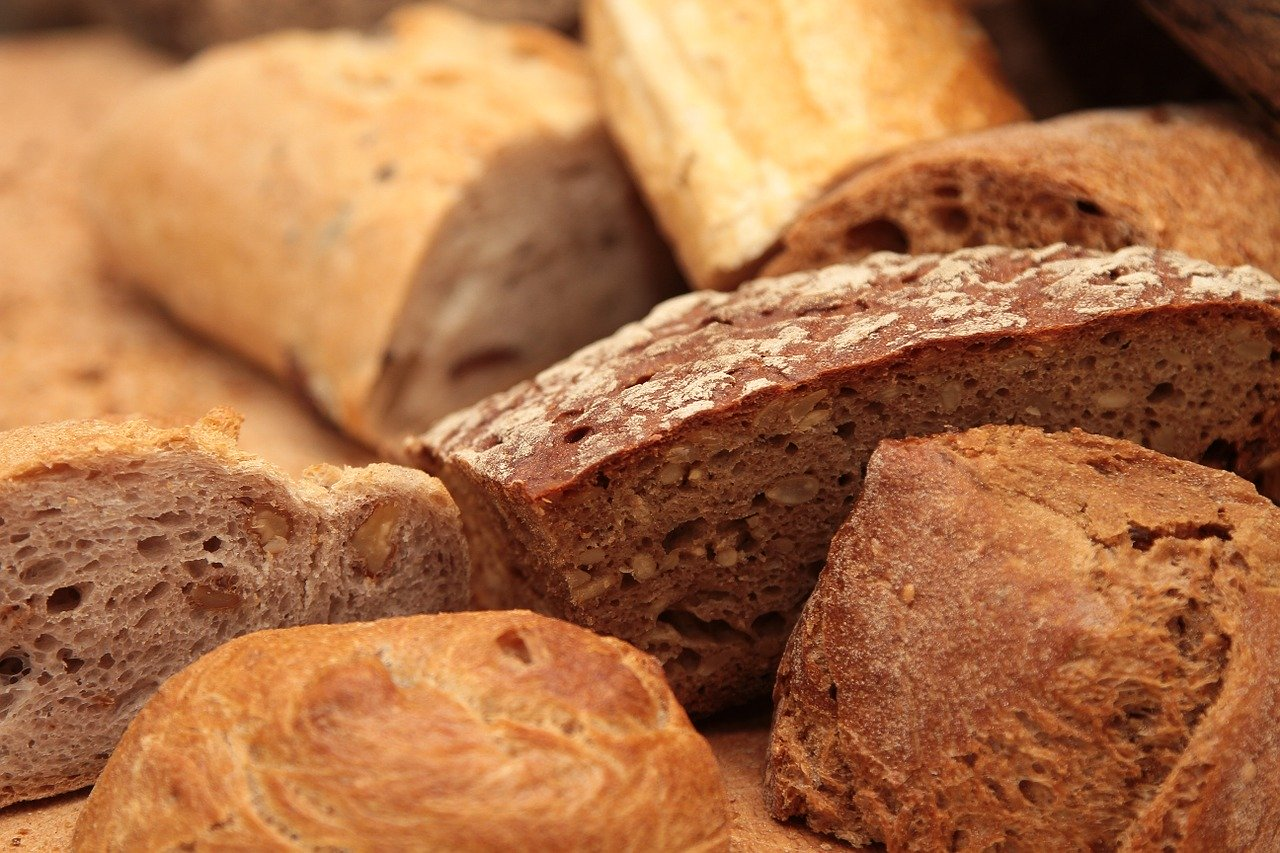 パン、菓子